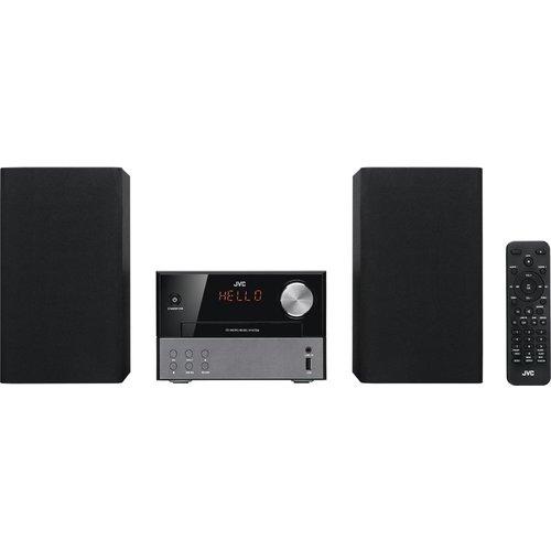 Save £20.00 - JVC UX-D327B Wireless Traditional Hi-Fi System - Black, Black