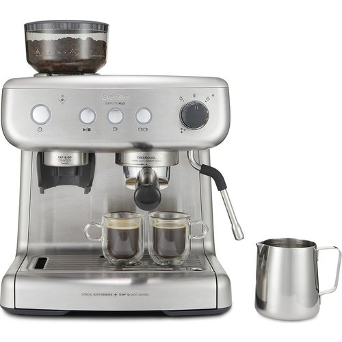 Save 33% - BREVILLE VCF126 Barista Max Coffee Machine - Stainless Steel, Stainless Steel
