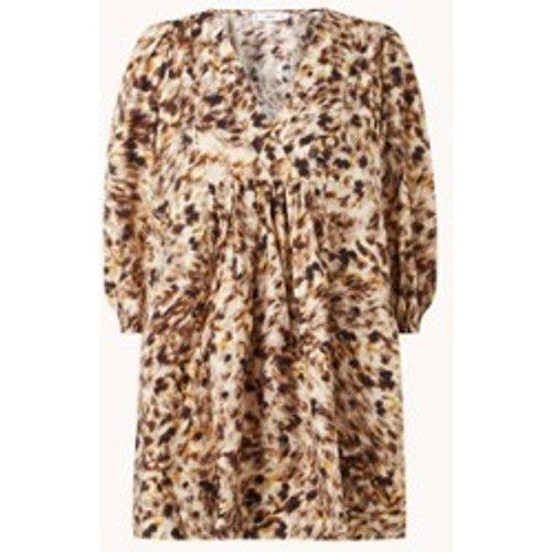 Mini robe tunique Carnaby à manches trois-quarts - Mango - Modalova
