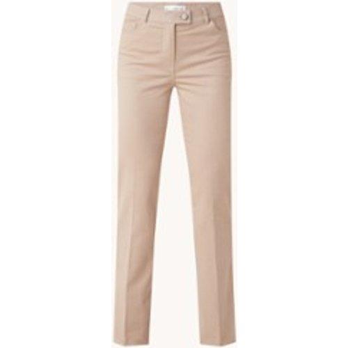 Pantalon taille haute évasé en lin - Mango - Modalova