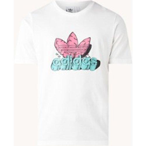 Adidas T-shirt avec imprimé logo - Adidas - Modalova