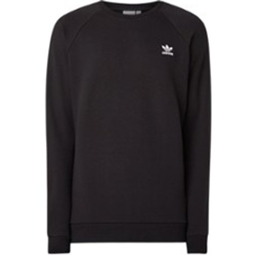 Sweat en coton avec bordure logo - Adidas - Modalova