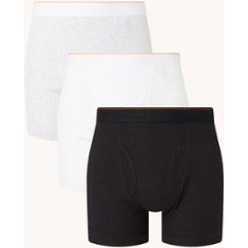 Boxer avec logo en pack de 3 - Calvin Klein - Modalova