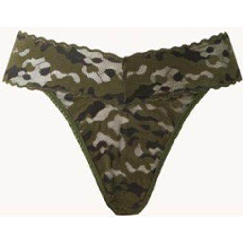 String en dentelle avec imprimé camouflage - Hanky Panky - Modalova