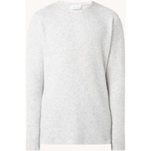 Pullover fin en laine mélangée - American vintage - Modalova