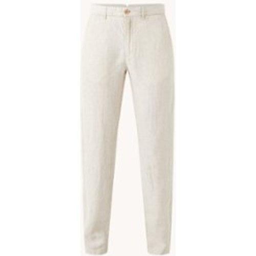 Pantalon Oyster coupe slim en lin - Mango - Modalova