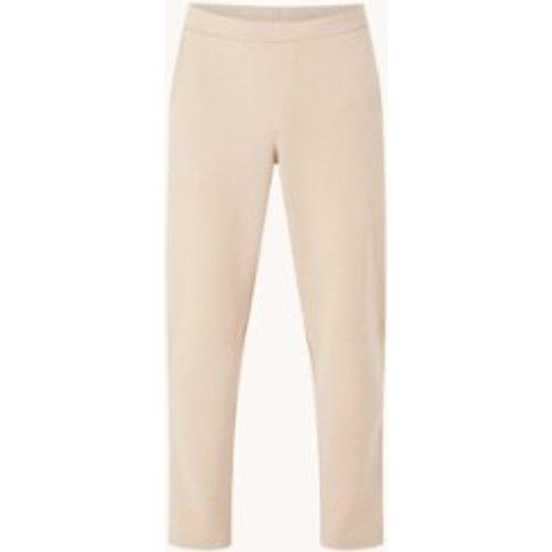 Pantalon de jogging court coupe droite avec poches latérales - Mango - Modalova