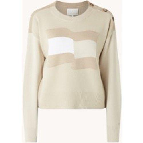 Pull Icons en coton biologique avec imprimé tricoté - Tommy Hilfiger - Modalova