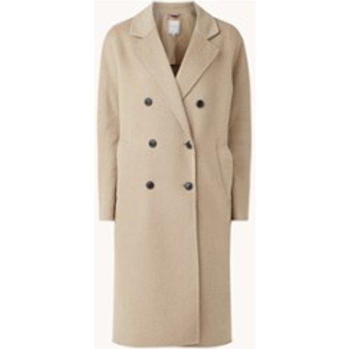 Manteau en laine mélangée avec poches latérales - Tommy Hilfiger - Modalova