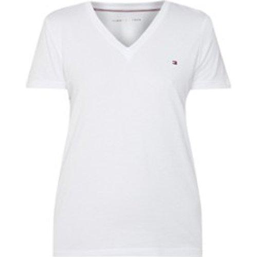 T-shirt Heritage à col en V - Tommy Hilfiger - Modalova