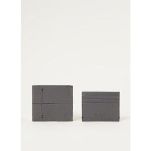 Porte-monnaie Cartierr avec porte-cartes en cuir dans coffret cadeau - Ted Baker - Modalova