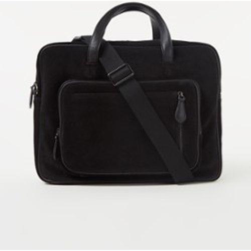 Sac d'affaires en cuir avec compartiment pour ordinateur portable 15,6 pouces - Ted Baker - Modalova