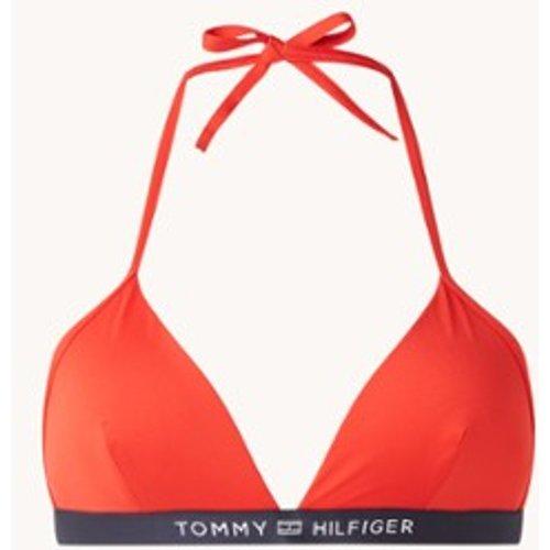 Haut de bikini triangle préformé avec logo - Tommy Hilfiger - Modalova