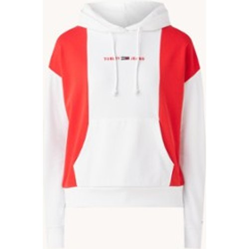 Sweat à capuche avec ordre des couleurs et bordure logo - Tommy Hilfiger - Modalova