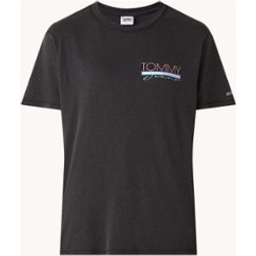 T-shirt avec imprimé sur le devant et le dos - Tommy Hilfiger - Modalova