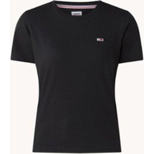 T-shirt à col rond avec logo - Tommy Hilfiger - Modalova