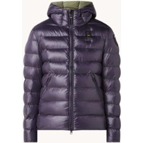 Veste en molleton avec capuche et poches zippées - Blauer - Modalova