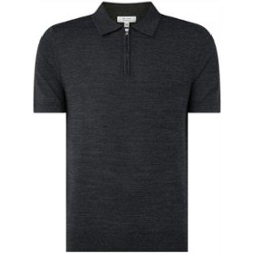 Polo en laine tricoté fin Maxwell - REISS - Modalova