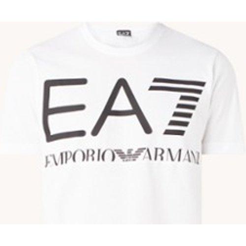 T-shirt d'entraînement avec imprimé logo - Emporio Armani - Modalova