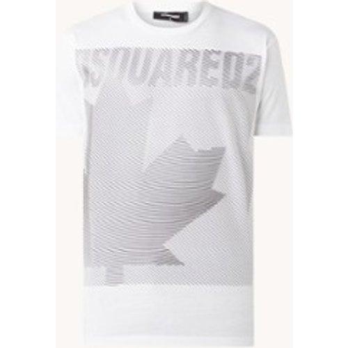 T-shirt avec imprimé logo 3D - Dsquared2 - Modalova