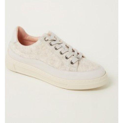 Sneaker Salerno avec détails en cuir - Unisa - Modalova