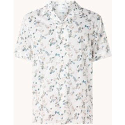 Chemise coupe classique à imprimé floral - Selected Homme - Modalova