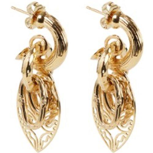 Boucles d'oreilles Lizza avec pendentifs plaqué - Gas Bijoux - Modalova