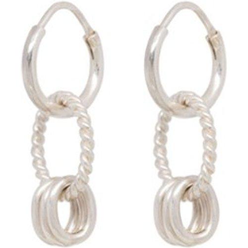 Boucles d'oreilles en avec pendentif - Anna + Nina - Modalova