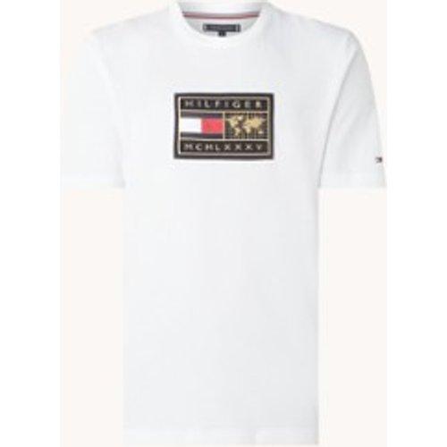 T-shirt avec broderie logo - Tommy Hilfiger - Modalova