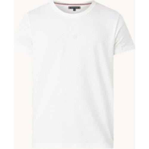 T-shirt avec bordure logo - Tommy Hilfiger - Modalova