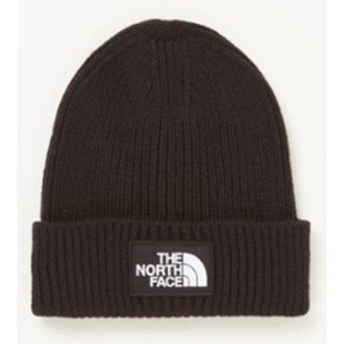 Bonnet en maille côtelée avec logo - The North Face - Modalova
