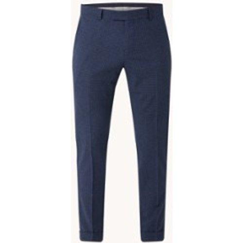 Pantalon coupe slim en laine à carreaux - Strellson - Modalova