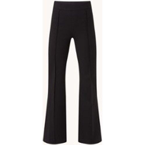 Pantalon en jersey taille haute évasé avec couture de séparation - Spanx - Modalova