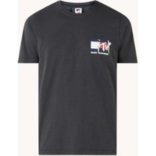 T-shirt MTV avec imprimé sur le devant et au dos - Tommy Hilfiger - Modalova