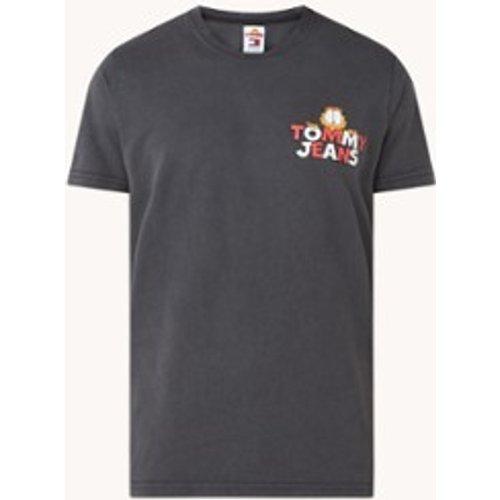 T-shirt Garfield avec imprimé sur le devant et au dos - Tommy Hilfiger - Modalova