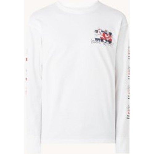 T-shirt à manches longues Ren Stimpy avec imprimé - Tommy Hilfiger - Modalova