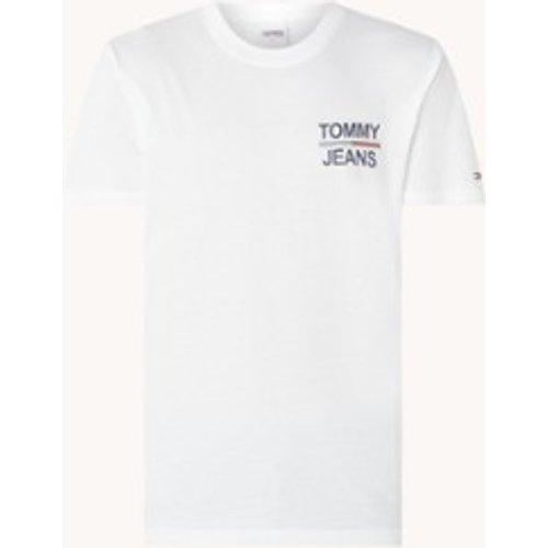 T-shirt avec logo et imprimé au dos - Tommy Hilfiger - Modalova