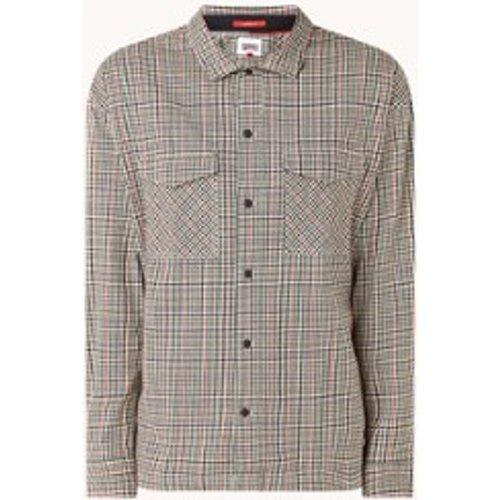 Chemise avec motif à carreaux et poches à rabat - Tommy Hilfiger - Modalova