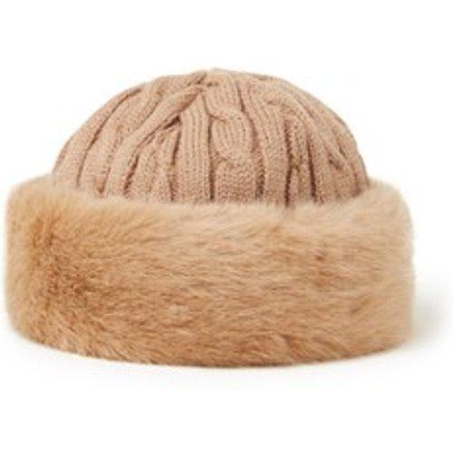Bonnet en laine mélangée avec fausse fourrure - Barts - Modalova