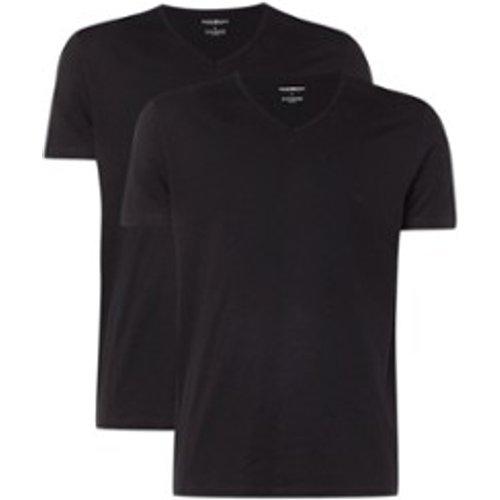 T-shirt uni, lot de 2 - Emporio Armani - Modalova