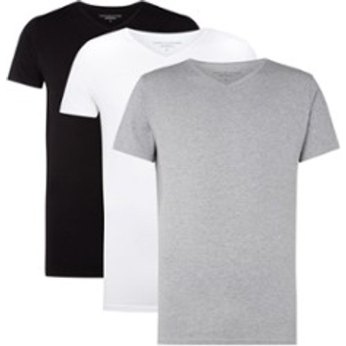 T-shirt Essential à manches courtes et col en V - Tommy Hilfiger - Modalova