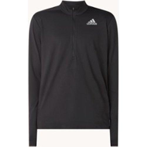 T-shirt à manches longues Own The Run avec demi-zip - Adidas - Modalova