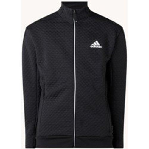 Veste de survêtement Z.N.E avec structure et logo imprimé - Adidas - Modalova