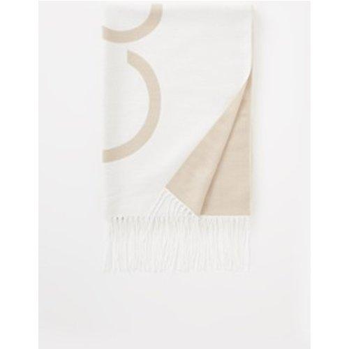 Écharpe avec franges et logo 180 x 35 cm - Calvin Klein - Modalova