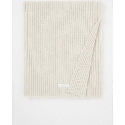 Écharpe tricot côtelé 170 x 25 cm - Calvin Klein - Modalova