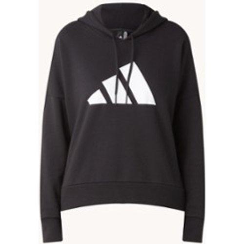 Sweat à capuche avec imprimé logo - Adidas - Modalova