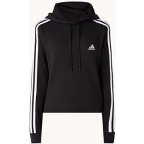 Sweat à capuche d'entraînement 3-Stripes avec logo brodé - Adidas - Modalova