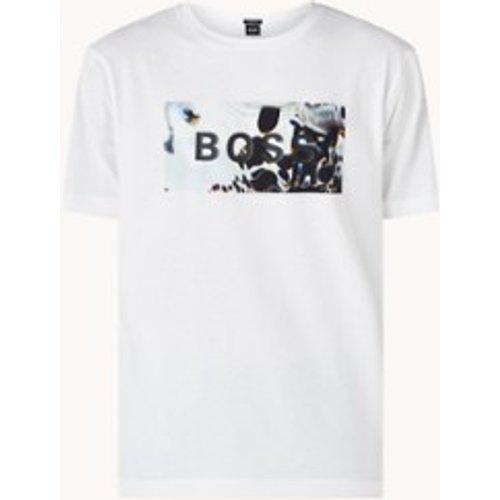 T-shirt numérique avec imprimé - Hugo Boss - Modalova