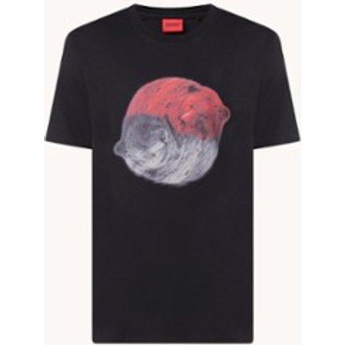 T-shirt Dichard à imprimé animal - Hugo Boss - Modalova