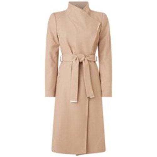 Manteau en laine avec ceinture - Ted Baker - Modalova